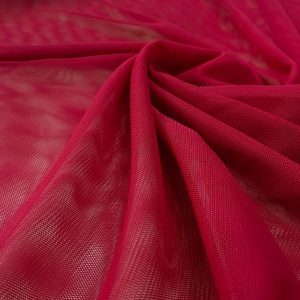 Lycra Tulle Red