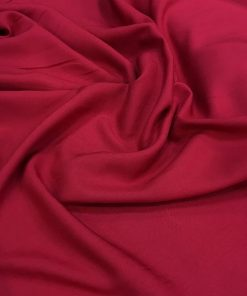 Cotton Viscose Red