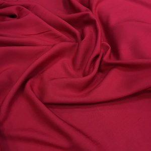 Cotton Viscose Red