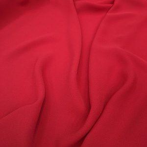 Zara Crepe Chiffon Red