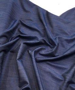 Dünner Jeansstoff Dunkel Blau