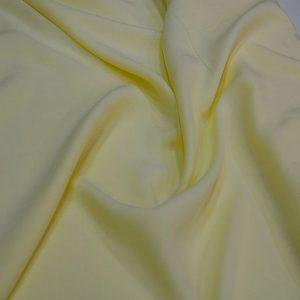 Cotton Viscose Lemon