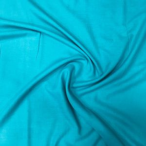 Cotton Voile Blue Cotton Voile Shawl Blue
