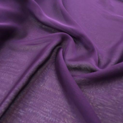Irisierender Schal Lila