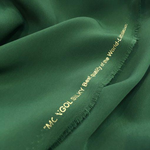 Thin Crepe Emerald