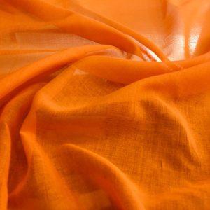 Cotton Cheesecloth Orange