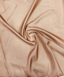 Polyester Futterstoff Milchig Braun