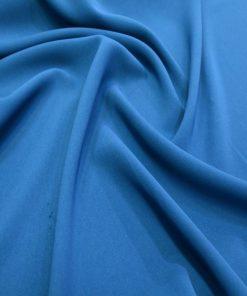 Medina die Seide Schal Saxe Blau