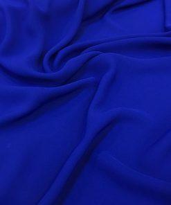 Zara Krepp Chiffon Dunkel Blau