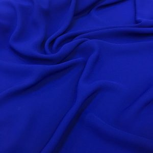 Zara Crepe Chiffon Dark Blue