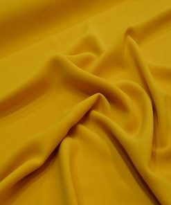 Double Italian Crepe Yellow