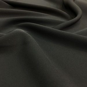 Double Italian Crepe Black