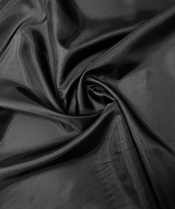 Polyester Lining Black