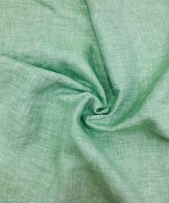 Italian Leinen Wasser Grün