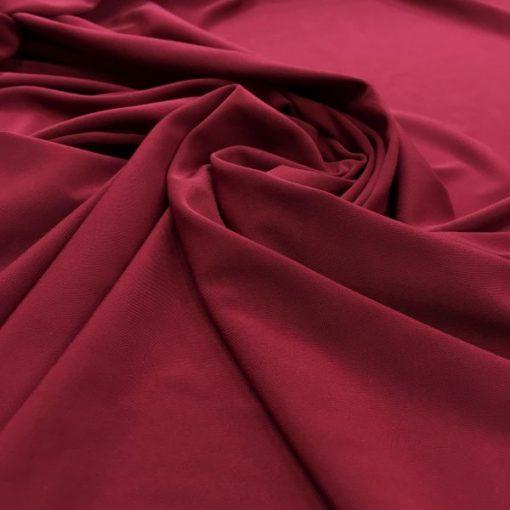 Medina Silk Shawl Claret Red