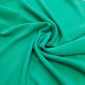 Double Italian Crepe Green