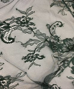 French Coupon Lace Emerald